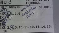 20.07 Çarşamba İSTANBUL  (Tuttu 7600 TL)