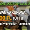 01.12 Perşembe İZMİR (Özgür Şölen) – Cazip Bankolara Devam 79 bin TUTTU